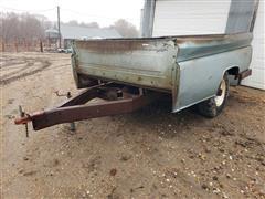 2 Wheel Pickup Box Trailer