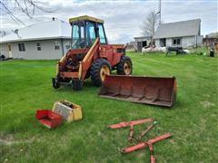 Versatile 150 Articulated Bi Directional 4WD Tractor