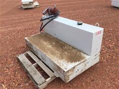 Delta 480000 105 Gal Fuel Tank W/Fill-Rite Pump