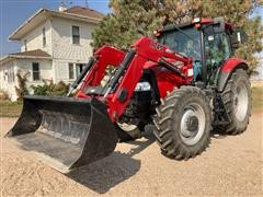2012 Case IH Maxxum 110 MFWD Tractor W/Loader & Bucket
