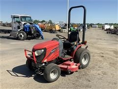 Mahindra HST EMax 25 4WD Compact Tractor W/Mower