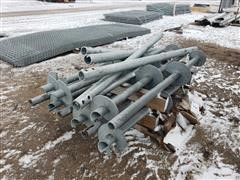 Behlen Galvanized Anchors/Galvanized Heavy Wall Tubing