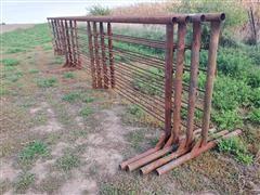 2021 D&S 24' Free Standing Livestock Panels