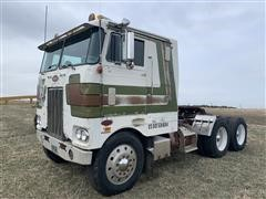 1974 Peterbilt 352M T/A Cabover Truck Tractor