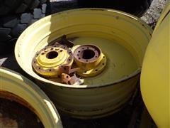 John Deere Axle Mount Rear Dual Rims
