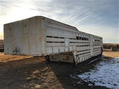1978 Homemade Shop Built Cattle Trailer