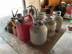 Propane Tanks, Gas Cans & Funnels