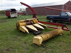 New Holland 892 Pull-Type Forage Harvester W/Headers
