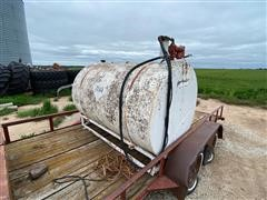 500-Gallon Fuel Tank W/Pump