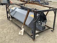 "2020 TMG SRT72 72"" Skid Steer Rotary Tiller"