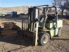 Clark GBX50 E 8950lb Capacity Forklift