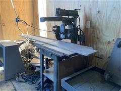 "Rockwell Delta 30-C 10"" 220/440V 3-Phase Radial Arm Saw"