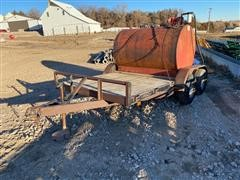 1997 Buck Dandy 14' T/A Utility Trailer W/Fuel Tank & Pump