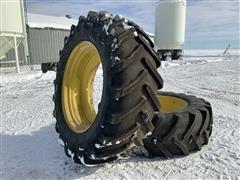 Michelin XM28 620/70R46 Tractor Tires & Rims