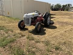 Ford 8N 2WD Tractor W/Mower