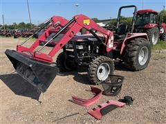 2013 Mahindra 4530 4WD Compact Utility Tractor W/Loader