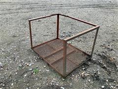 Cage Platform W/Railing