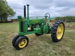 1935 John Deere A 2WD Row Crop Tractor