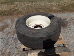 Dunlop 425/65R22.5 Tire & 10-Bolt Rim