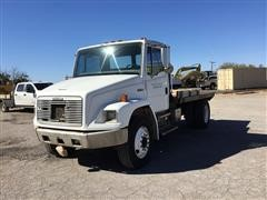 1997 Freightliner FL70 S/A Flatbed Truck
