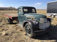 1946 Chevrolet Flatbed Truck (INOPERABLE)