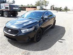 2014 Ford Taurus Flex Fuel AWD Police Interceptor