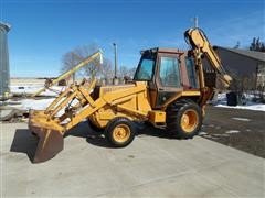1986 Case 580 Super E 2WD Loader Backhoe W/Extendahoe
