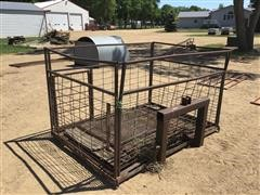 3-Pt Custom Livestock Carrier