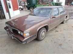 1985 Cadillac DeVille Brougham 4-Dr Car