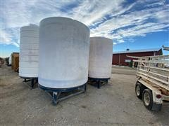 2500-Gal Cone Bottom Tanks