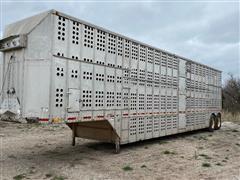 1983 Merritt Cattle Drive 48' T/A Livestock Trailer