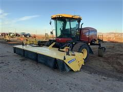 2015 New Holland SR260 Self Propelled Windrower W/Head