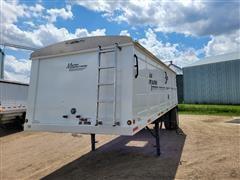 2012 Maurer Single Hopper Grain Trailer