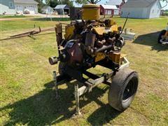 Caterpillar 3208 Power Unit On Cart