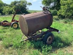 Portable 300-Gallon Fuel Barrel