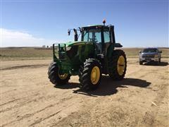 2015 John Deere 6170M MFWD Tractor