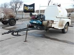 Chevrolet Shop Built Fuel Trailer