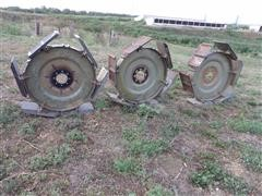Chief Steel Pivot Irrigation Paddle Wheels