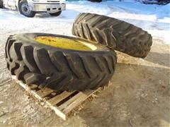 CO-OP Agri Traction 18.4-38 Tractor Duals W/9 Bolt Rims