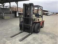 Nissan 80 Propane Forklift