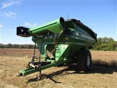 2012 J&M 1051 Grain Cart