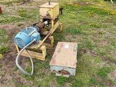 T-L Pivot Pump W/Service Panel