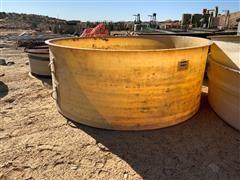 "48"" X 10' Round Fiberglass Tank"