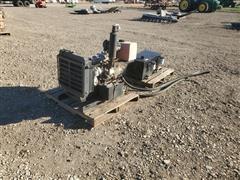 Isuzu 4 Cyl Diesel Engine W/Hydraulic Pump
