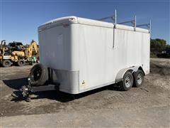 2018 Haulin HALPP714TA2 14' T/A Pro Series Cargo Trailer