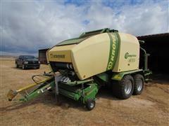 2014 Krone Comprima CV 150 XC Round Baler/Wrapper Combination