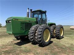 1989 John Deere 8760 4WD Articulated Tractor