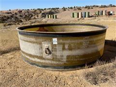 4' X 12' Round Fiberglass Tank