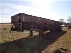 2009 Trinity Eagle Bridge Tri/A Stainless Steel Belt Trailer