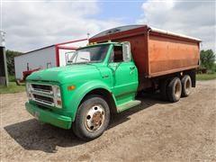 1969 Chevrolet C50 T/A Grain Truck W/16' Box